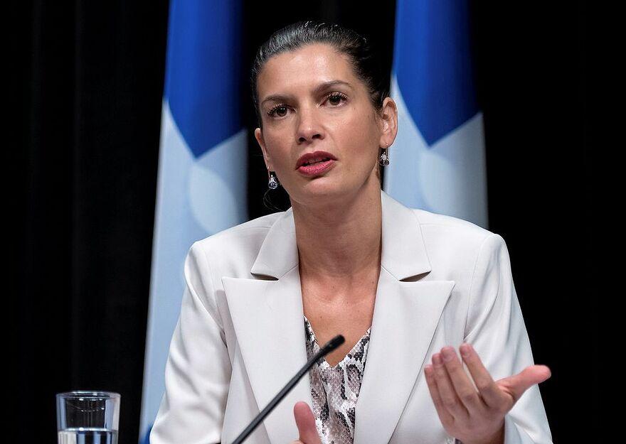 La dpute de Louis-Hbert vice-premire ministre du Qubec ministre de la Scurit publique et ministre responsable de la rgion de la Capitale-Nationale Genevive Guilbault