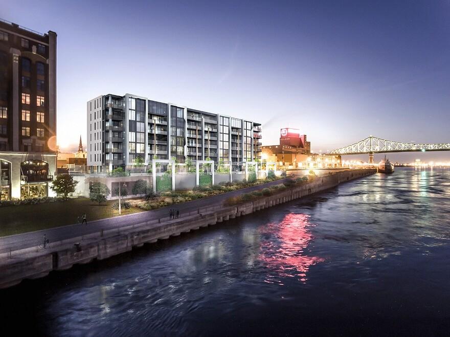 edifice-cote-fleuve-nuit