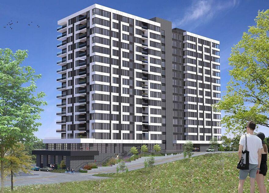L'édifice de la phase 2 du projet LB9, une tour de 15 étages, aura des composantes architecturales qui favoriseront une vue exceptionnelle sur la ville. Les condos offerts en location iront du studio au 5 1/2 en passant par les 2 1/2, 3 1/2 et des 4 1/2. La première pelletée de terre a été faire lundi. La nouvelle tour devrait recevoir ses premiers locataires à la fin de l'année 2022.
