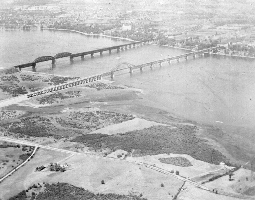 Ponts Mercier, Saint-Laurent et ile Maline avant 1959 (2)