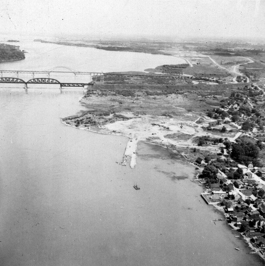 Ponts Mercier, Saint-Laurent et ile Maline avant 1959 (1)