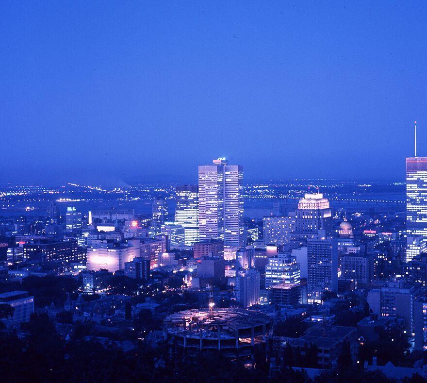 1964 Le centre-ville de Montréal, 1964, VM94-SY-AD12-014