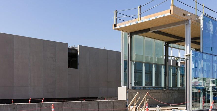 Progression de la station Du Ruisseau au centre de Montréal   Station Du Ruisseau - Mai 2021