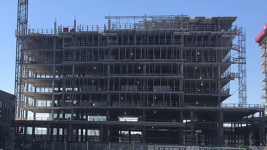 Chantier de construction.