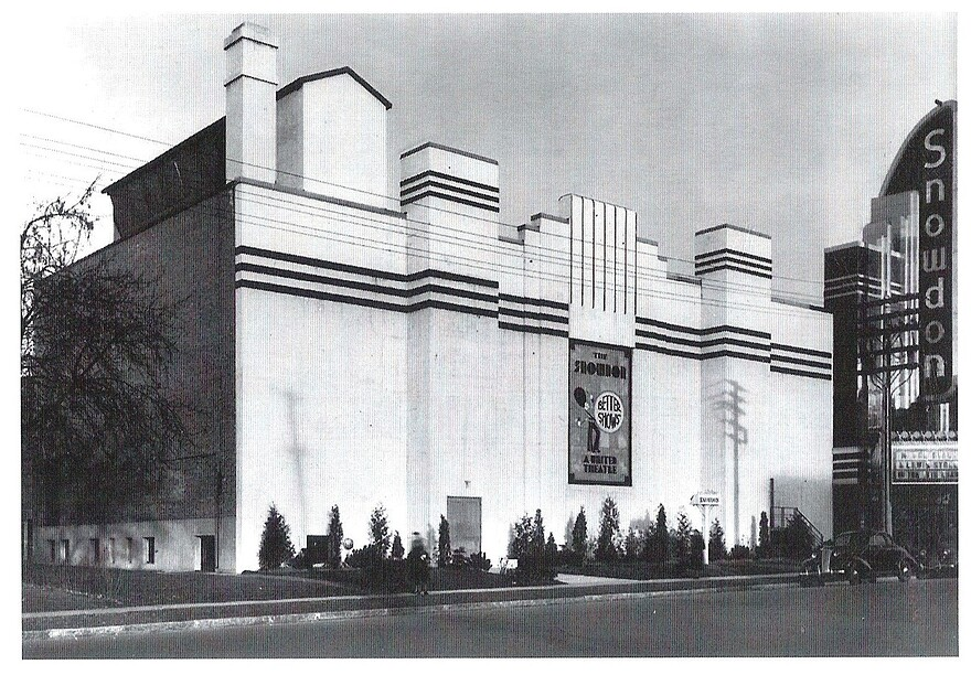 1937 ouv. Théâtre Snowdon MtlMoviePalaces