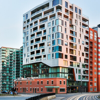 IMAGE The Brickfields residential and office condos building in Montreal by Matre Carr Courtesy Matre Carr
