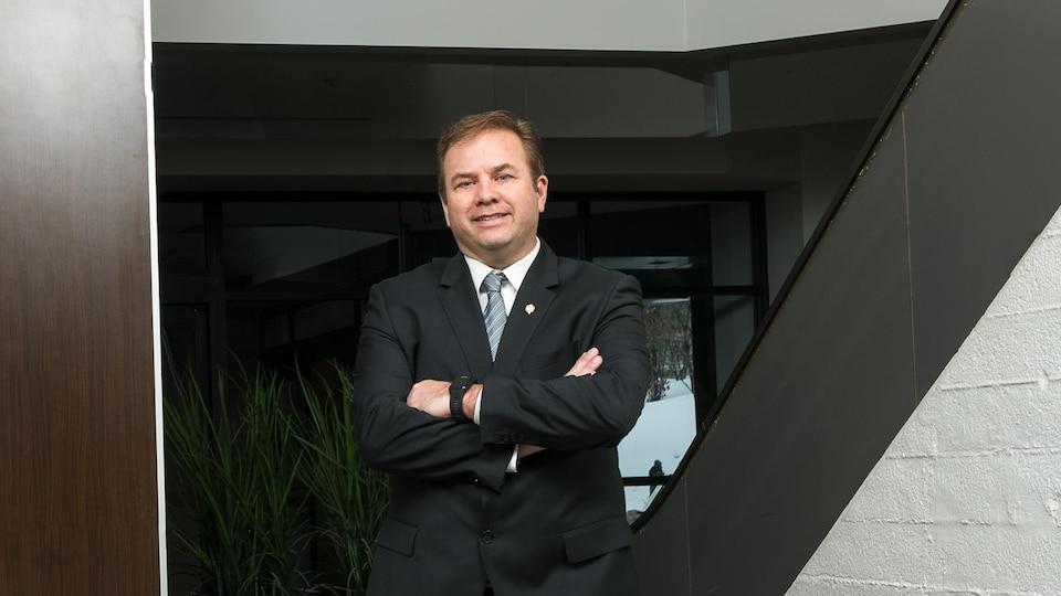 Jacques Demers est président de la Fédération québécoise des municipalités