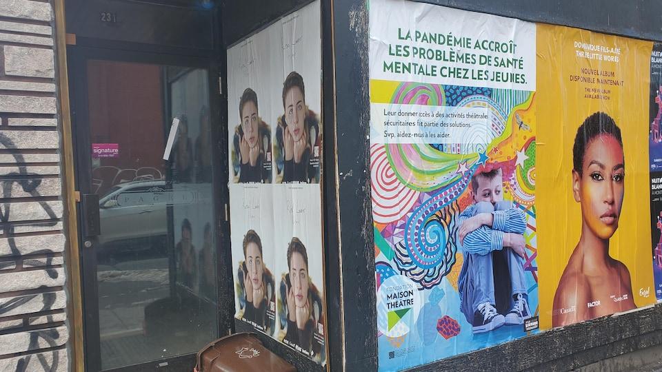 Un local vide sur la rue Saint-Viateur.