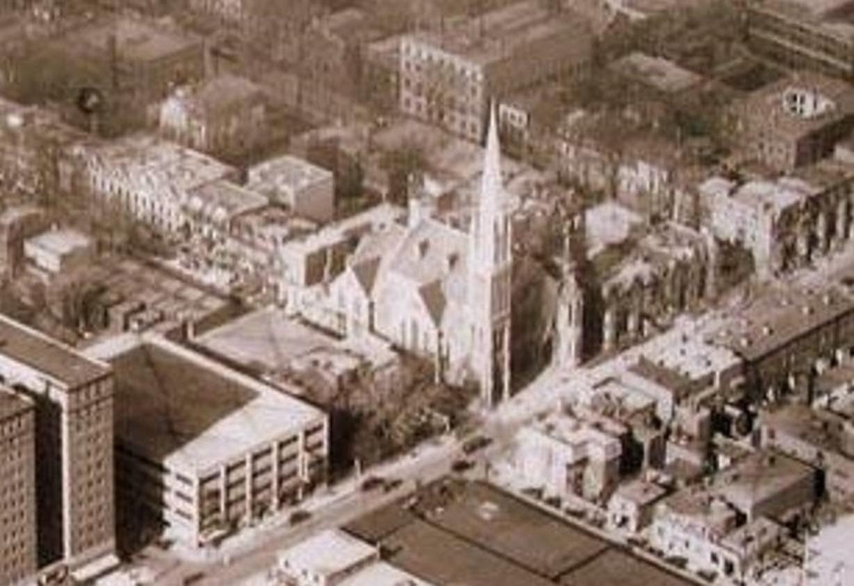 1928v vao église presbytérienne Crescent Street