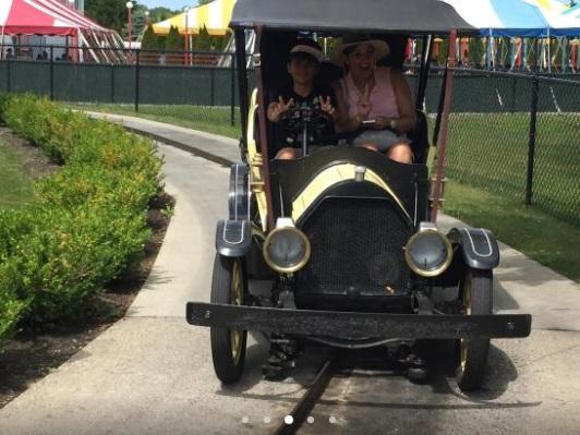 funtown antique car ride