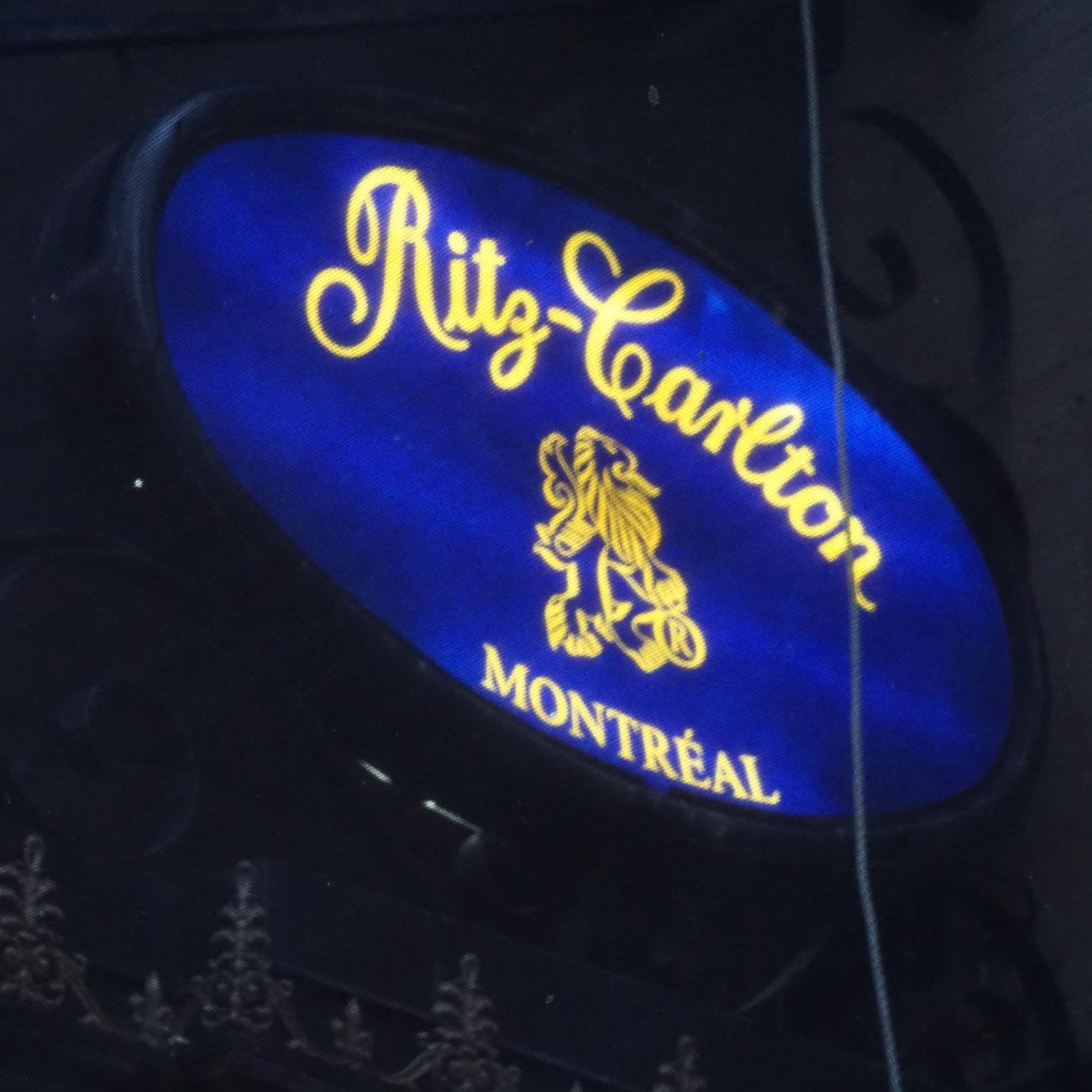Enseigne Ritz-Carlton