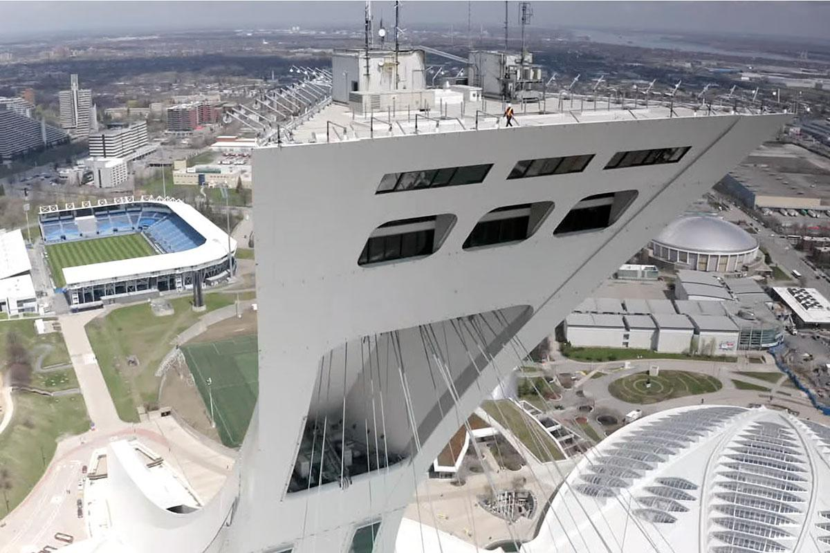 Le Parc olympique rénovera la Tour de Montréal et son Observatoire. Crédit : Parc olympique.