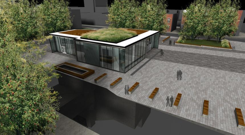 Un nouveau toit vert à la station de métro Mont-Royal
