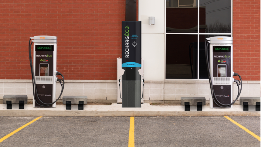 Une première station de recharge électrique à Montréal